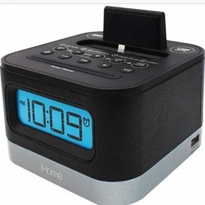 iHome  alarm clock/ iPhone dock